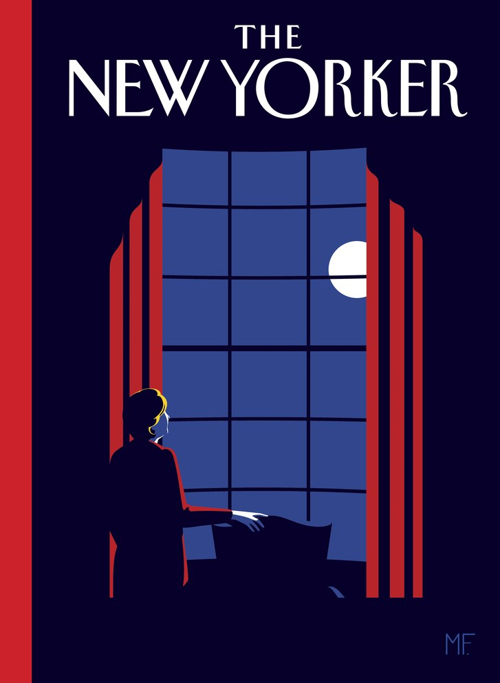 A New Yorker cover of what might have been.